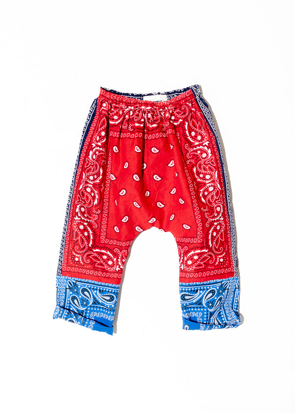 Ryan Kids Pant- Vintage Bandana (Made to order)