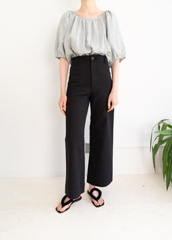 Maison Pants- Black Denim