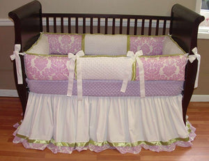 Ruffled Crib Skirt