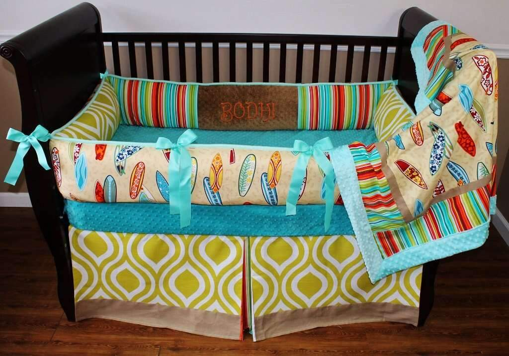 Teal & Green Bodhi Hawaiian Bedding