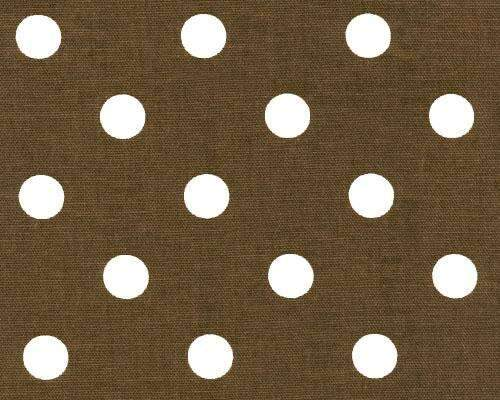 Chocolate & Cream Polka dots