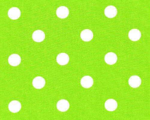 Green Apple Polka dots