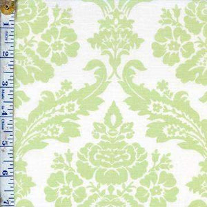 Green Large Scale damask