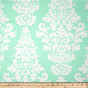 Mint French Damask