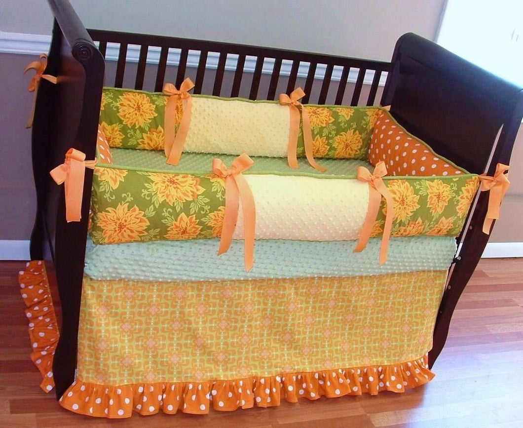 Meadow Crib Bedding