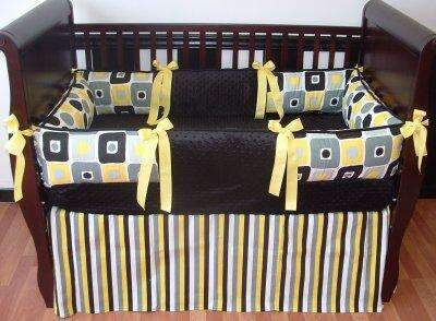Rowan Geometric Crib Bedding