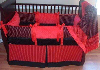 Scarlet Crib Bedding
