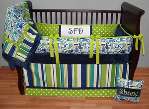 Shane Crib Bedding~ONLY ONE LEFT