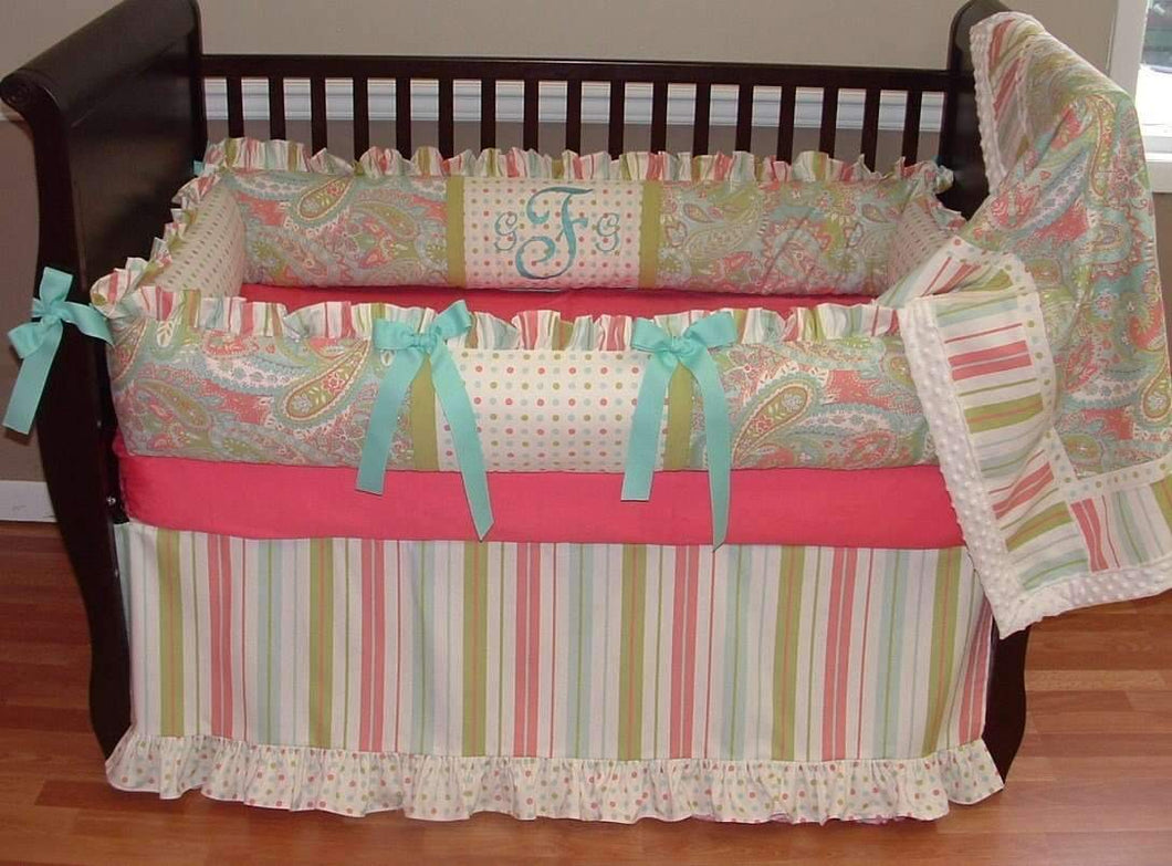 Spring Crib Bedding