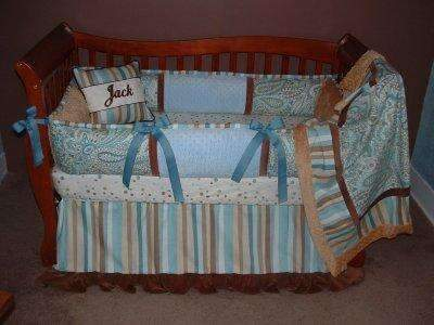 Surf & Sand Crib Bedding~Almost Sold Out