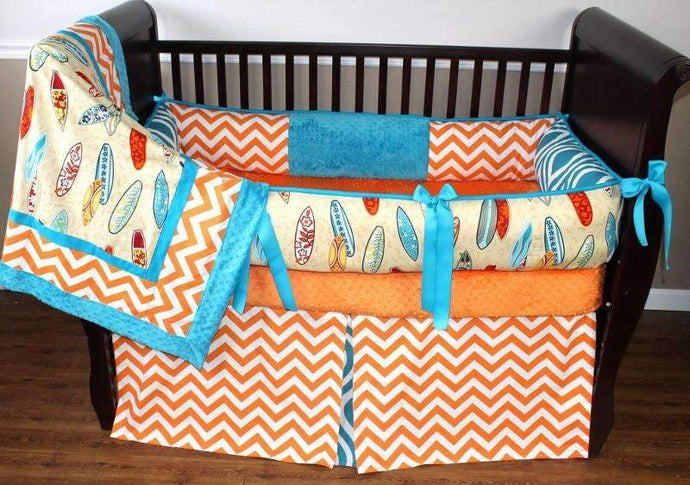 Surfer Crib Bedding
