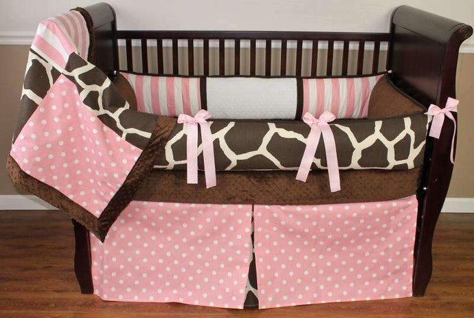 Sweet Angel Giraffe Crib Bedding