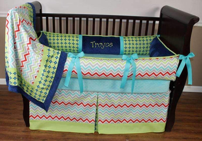 Troy Crib Bedding