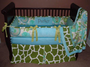 Urban Safari Crib Bedding