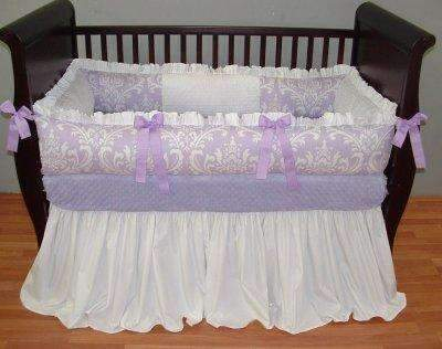 Violet Crib Bedding