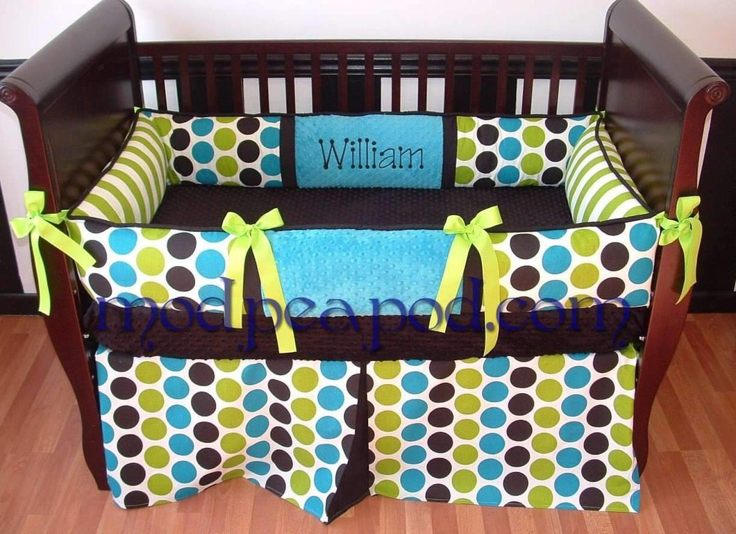 William Crib Bedding