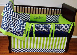 Zander Crib Bedding