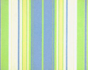 Baby Blue Green Stripe