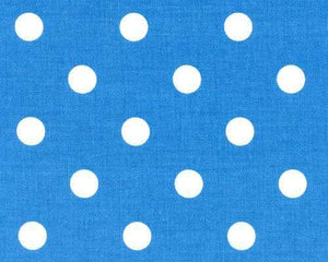 Blue Medium Polka Dots