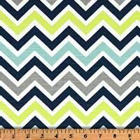 Navy Multi Chevron
