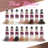 Pink Ribbon Series - Areola Tattoo Ink Kit by Samantha Rae
