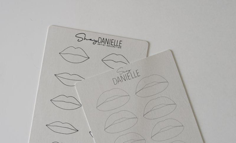 Shay Danielle *EXCLUSIVE* Double Sided Lip Practice Skins - 5 pack - HYVE Beauty