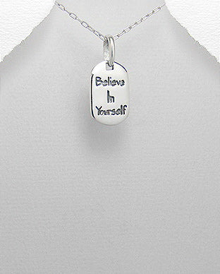 Believe in yourself  Pendant