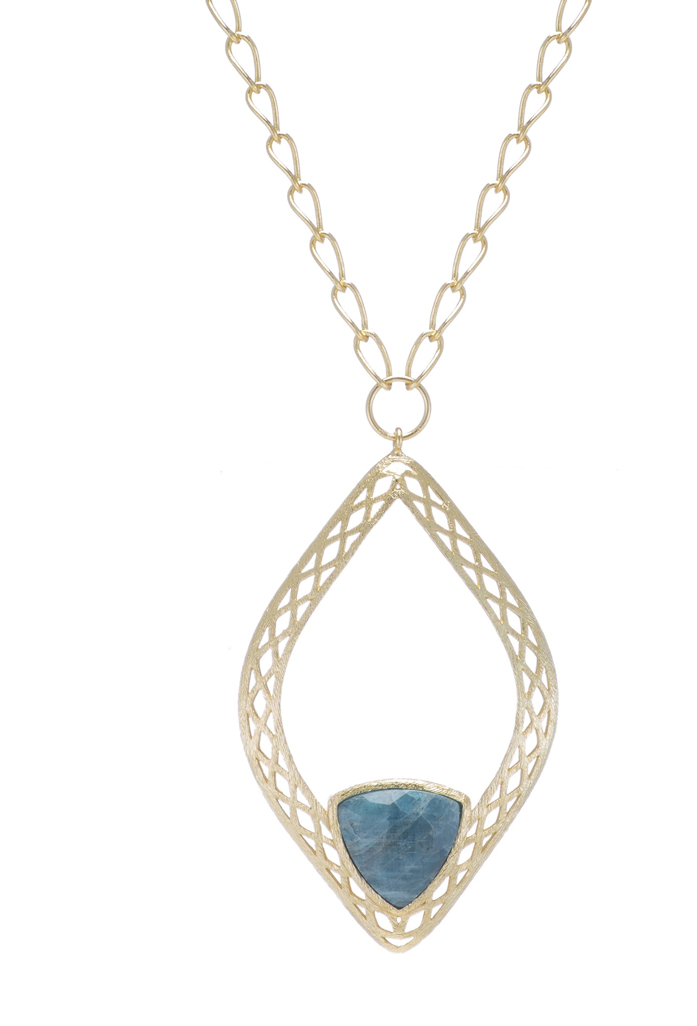 "Darlena Necklace €"" Apatite"