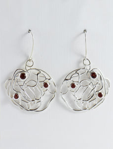 Intertwined Wire Earrings