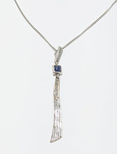 Kyanite Silver Necklace