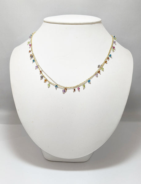 Multi Beaded Necklace