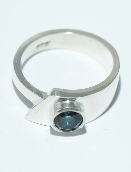 Blue Topaz in Silver