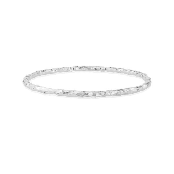 Hammered Textured Bangle