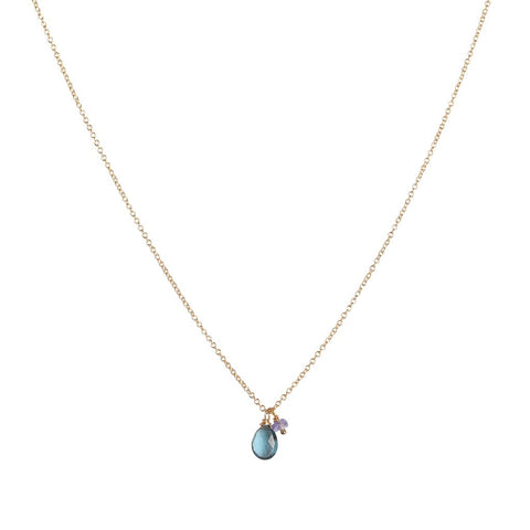 Isabel Necklace – Aquamarine