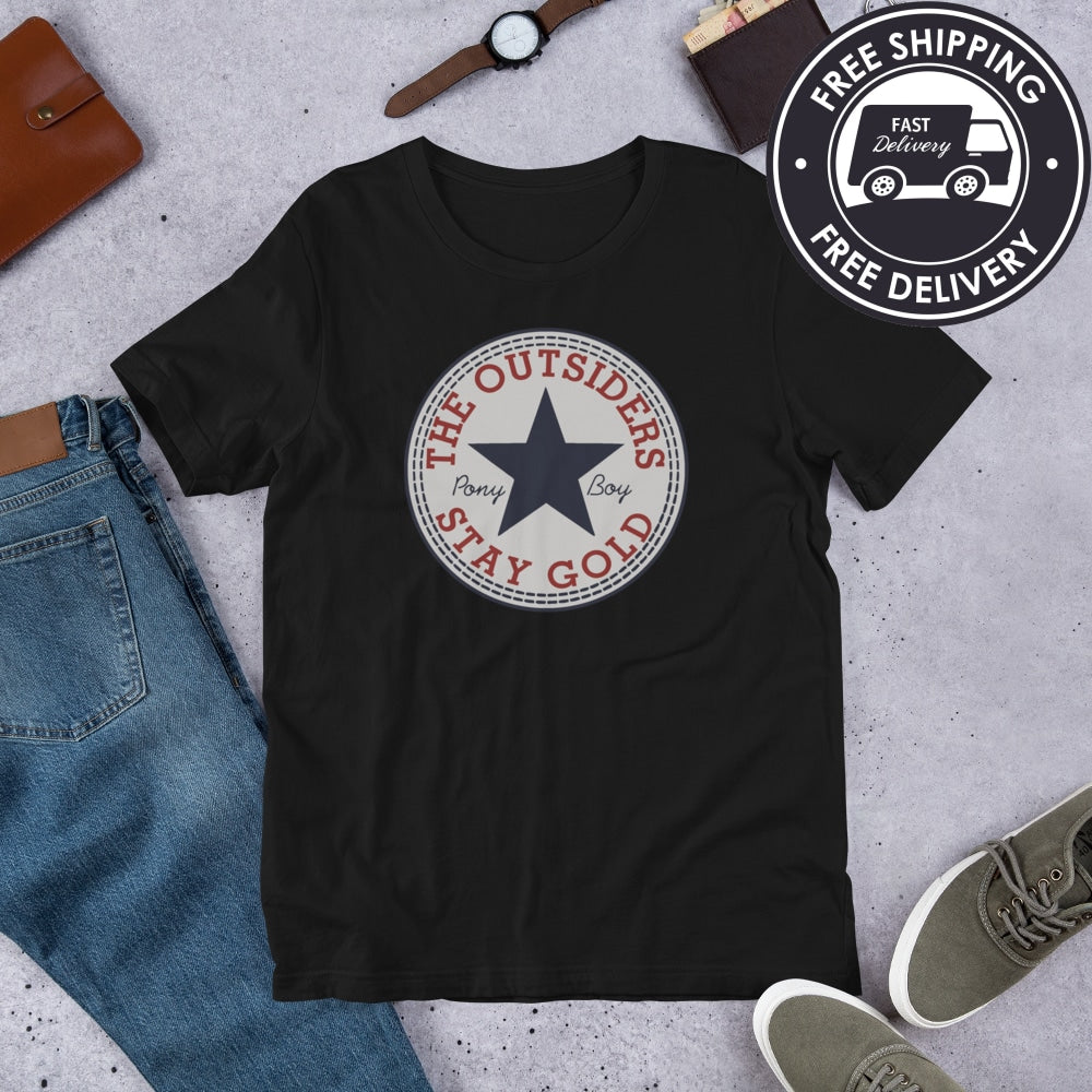 The Outsiders Stay Gold Pony Boy Movie Classic Chucks Unisex T Shirt S 4xl Yarn is the best way to find video clips by quote. oldsnewagain com by olds442cutlass