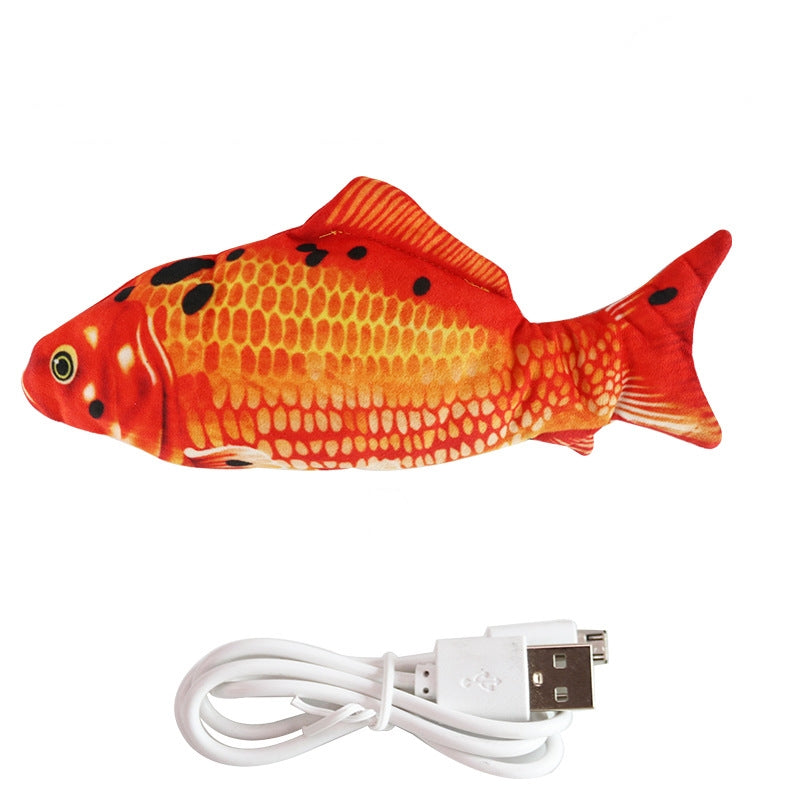 Nuopets Floppy fish cat toys Rechargeable Electric pet toy