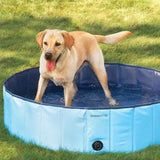 Foldable & Collapsible Swimming Pool For Pets, Dogs, Cats & Kids