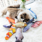 Floppy fish cat toys Rechargeable Electric pet toy