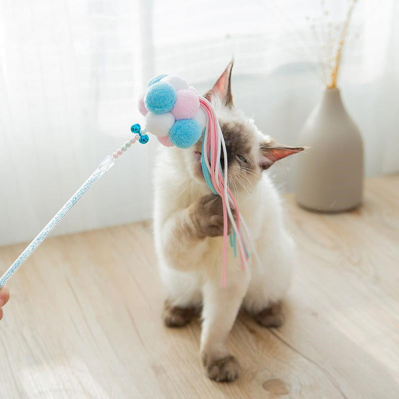 Tassels Teasing Cat Stick 3 pcs