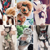 Pet Carrier Backpack Mesh Outdoor Travel Bags