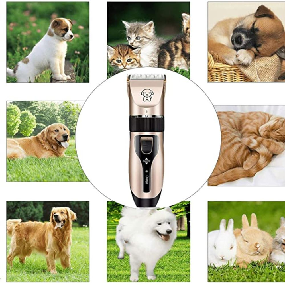 Electrical Pet Hair Trimmer Grooming Device For Both Cats & Dogs