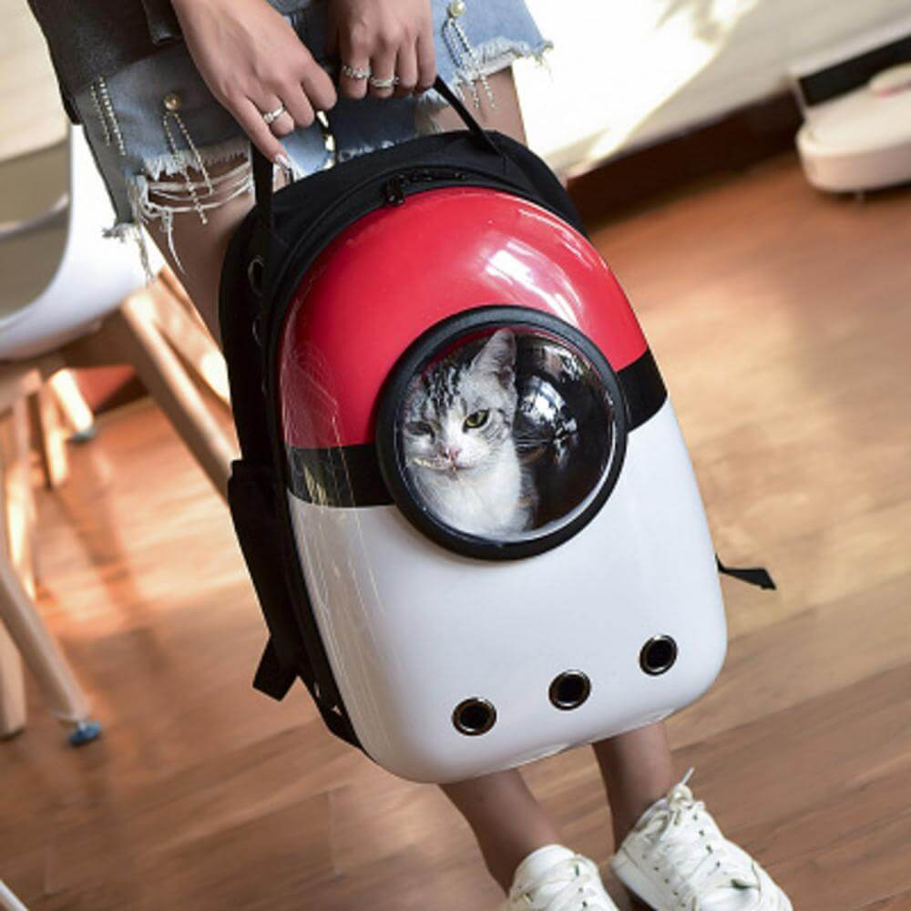 Pet Backpack Carrier Space Capsule Bubble design