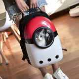 Pet Backpack Carrier Space Capsule Bubble & Waterproof for Cats | Portable & Travel friendly - NuoPets