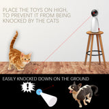 Automatic Cat Toys Interactive Smart Teasing Pet LED Laser