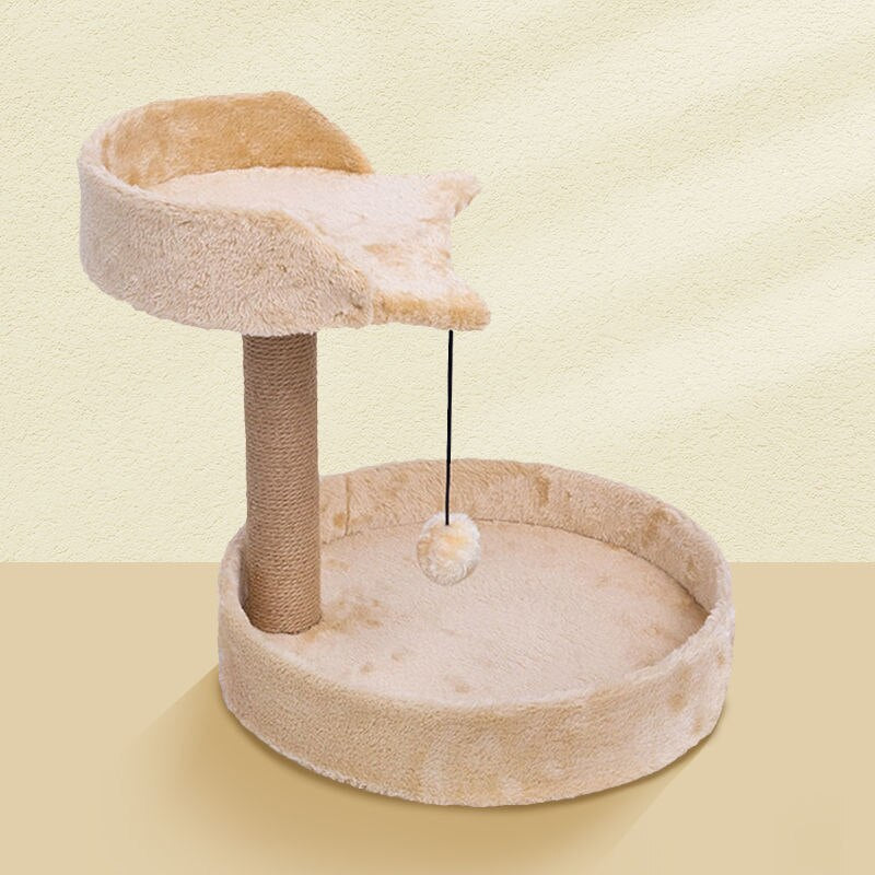 Cat Tree Cat Tower with Natural Sisal Scratching Post
