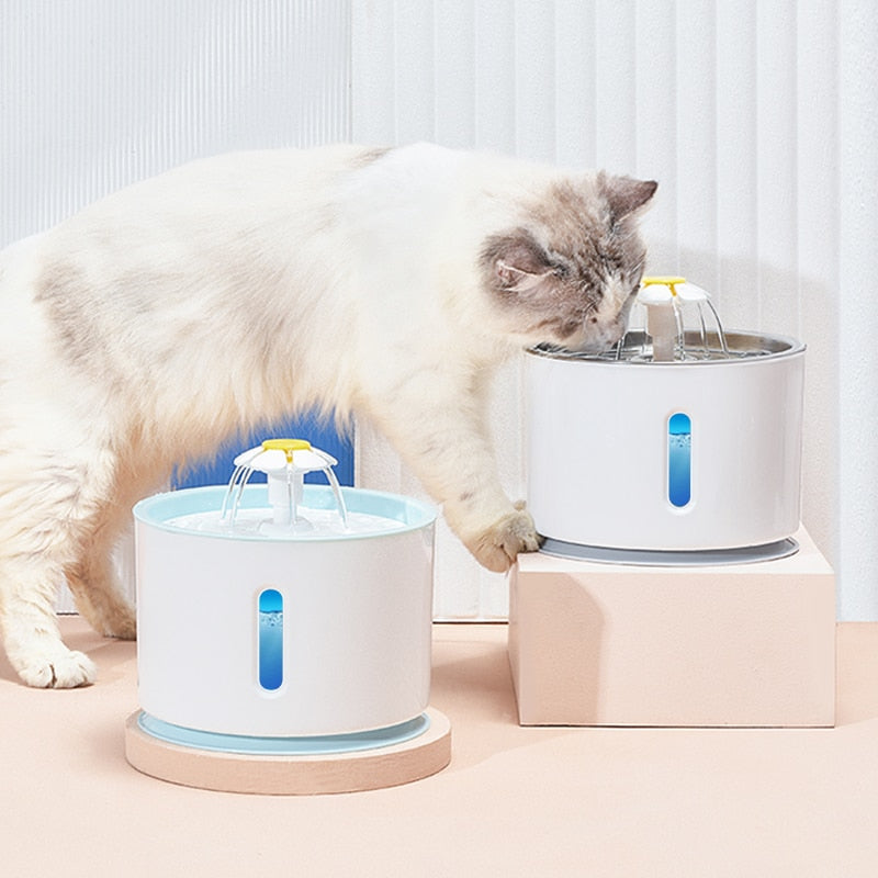 Nuopets Automatic Water Dispenser Cat Water Fountain
