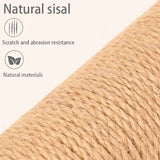 Cats Ultimate Scratching Post 100% NATURAL durable sisal Cat Tree For Kittern Cat climbing frame cat tree cat tree house cat tree that looks like a tree