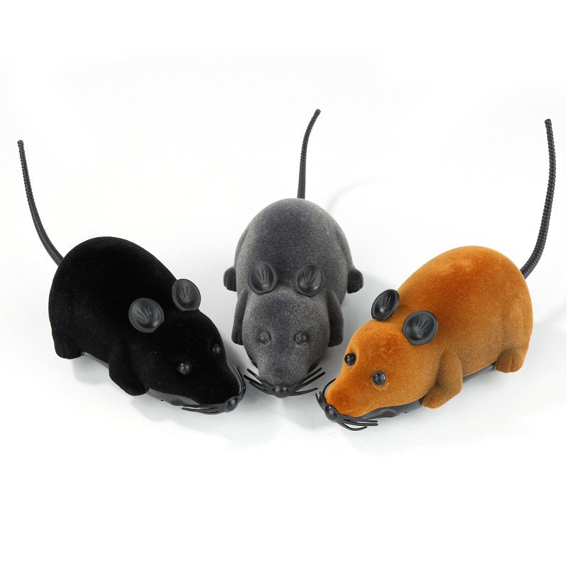 Nuopets Cat Toys Remote Control Wireless RC Simulation Mouse
