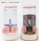 Pets Automatic Self-Dispensing Gravity Pet Feeder and Waterer for Dogs & Cats