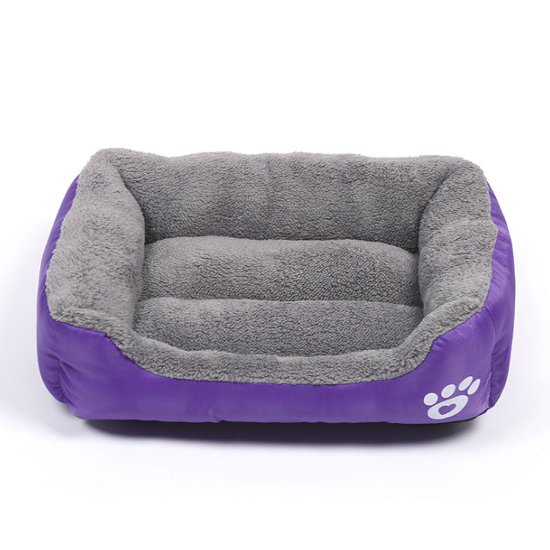 Nuopets Large Size Dog Bed Cozy Dog House (S-3XL)